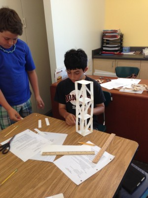 "<p class=""p1"">Students apply their understanding of seismic waves as they work through the engineering design process to build structures that can withstand an earthquake.  </p>"