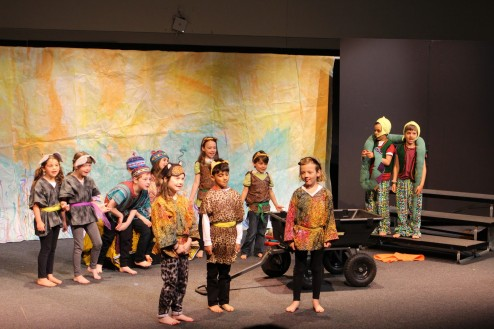 1st and 2nd Grades perform annual spring plays