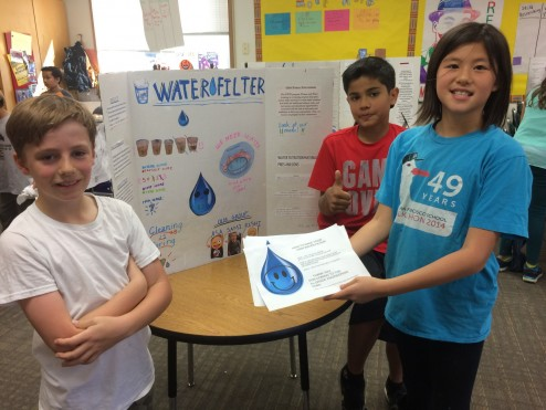 4th Grade hosts an engineering fair