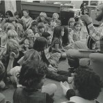 Music with Doug, early 1980s Students: Jamie, Mary, Paprika