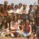 The San Francisco School Staff, circa 1970.  Left to right, Back row: Jim, Pamela, Melissa, Lynn,...