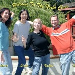 North Preschool and Kindergarten Team, From left to right: Dolores, Linda, Vahlee and Harald