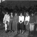 A batch of new recruits! 1985 new teachers: Spanish teacher, Allison, Molly, Julie, Erika, M... a...