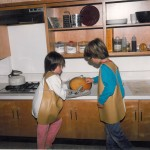 Preschool and Kindergarten students check their Hurry Up Cake to see if it's ready. Do you reme...